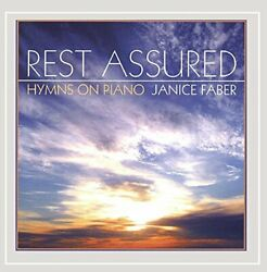 Janice Faber - Rest Assured - Hymns On Piano - Cd - Single - Mint Condition