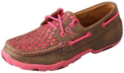 Twisted X Womenand039s Boat Shoe Leather Driving Moccasins