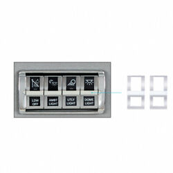 Up Rocker Switch Trims/covers Freightliner Cascadia 2018 Plastic 42425 2/pack