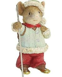 Heart Of Christmas Mice By Karen Hahn - Mouse - Snowshoe Scamper