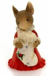 Heart Of Christmas Mice By Karen Hahn - Mouse With Stocking