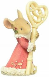 Heart Of Christmas Mice By Karen Hahn - Mouse With Santa Key