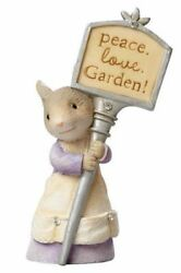 Tails With Heart By Karen Hahn - Plant Stake Mouse/mice