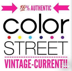 100 Authentic Color Street Vintage Current Retired Free Fast Shipping