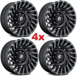 20 Fuel Cyclone Wheels Rims D683 Black Tint Rhino Xd Directional
