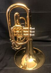 Yamaha Ymp203m Marching Mellophone Lacquer Finish