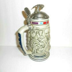 Avon Beer Stein Tribute To The American Armed Forces Made In Brazil 1990