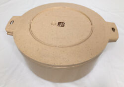 Littonware Dutch Oven 38808 Microwave Cooking Stock Pot