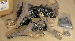 Wolf Steel Olkb36 Gas Log Set B36 For Napoleon Ascent 36-1 Fireplace