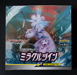 Pokemon Sun And Moon Miracle Twin Japanese Booster Box Sm11 Usa Seller Fast Ship