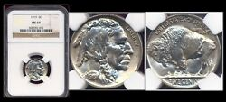 1919 5c Ngc Ms64 Extremely Sharp Mint Luster-buffalo Nickel