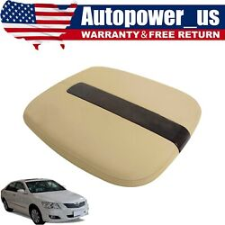 Ftis 07-11 Cadillac Escalade Leather Center Console Cover Armrest Beige Tan