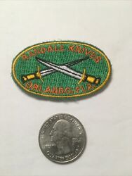 Mini Randall Knife Patch Vintage Factory New