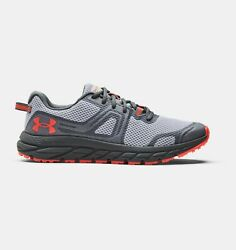 Under Armour Men#x27;s UA Charged Toccoa 3 Running Shoes 3023370 102 Mod Gray Pitc $62.95