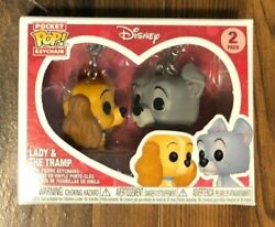 Funko Pocket Pop Keychain Disney Lady And The Tramp 2 Pack