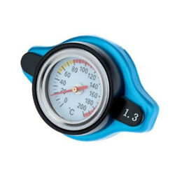 Car Thermostatic Gauge Radiator Caps 1.3 Bar 240 Degrees Thermometer Meter Cover