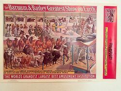 Ringling Brothers Barnum And Bailey Circus Poster