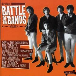 Northwest Battle Of Bands Volume Four - V/a - Cd - Import - Mint Condition