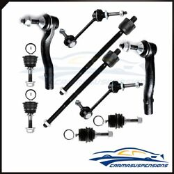 10pcs Front Tie Rod Ends Sway Bars For Lincoln Town Car Marquis Crown Victoria