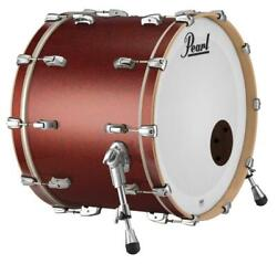 Pearl 22x18 Reference Series Bass Drum W/o Bb3 W/o Bb3 Mount Red Glass Rf2218b