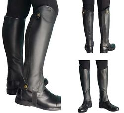 Horse Riding Boots Cover For Adults Protective Gear Equestrian Equipment
