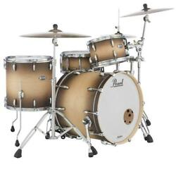 Pearl Masters Maple Complete 3-pc. Shell Pack Satin Natural Burst Mct923xsp/c351
