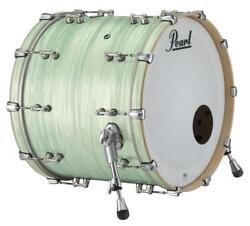 Pearl Music City Custom Reference Pure 26x14 Bass Drum W/o Bb3 Mount Ice Blue