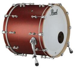 Pearl Music City Custom Reference Pure 26x14 Bass Drum W/o Bb3 Mount Red Glass