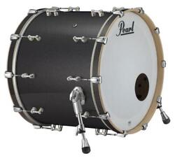 Pearl Music City Custom Reference Pure 26x16 Bass Drum W/bb3 Mount Charcoal Bl