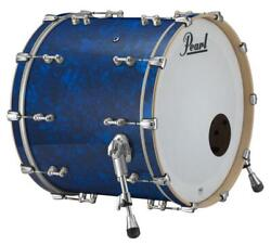 Pearl Music City Custom Reference Pure 26x16 Bass Drum W/bb3 Mount Blue Abalon