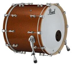 Pearl Music City Custom Reference Pure 26x16 Bass Drum W/bb3 Mount Burnt Orang