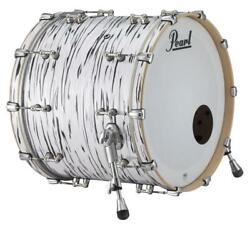 Pearl Music City Custom Reference Pure 26x16 Bass Drum W/bb3 Mount Black N Whi