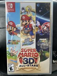 Super Mario 3d All Stars Nintendo Switch Sealed - Delisted/discontinued