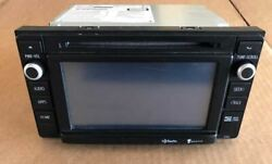 2014 Toyota Tacoma Radio Receiver And Display Unit - W/ Navigation 57092 Face Id