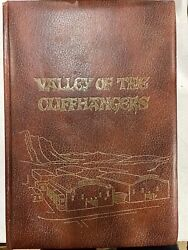 Valley Of The Cliffhangers By Jack Mathis, 1975 1st Edition. Very Large Hardback