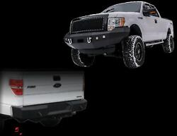 Dv8 Offroad Fbff1-02/rbff1-01 Front/rear Bumper Combo For 2009-2014 Ford F-150