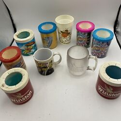 Vintage Cigarette Beer Can Koozie Insulated Cooler Coozies Lot Budweiser Weekend