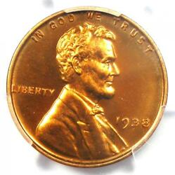 1938 Proof Lincoln Wheat Cent Penny 1c - Pcgs Pr67 Rd Pf67 - 1350 Value