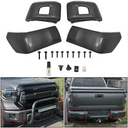 For 14-20 Toyota Tundra Qty 4 Front And Rear Bumper Covers Magnetic Gray 1g3 New