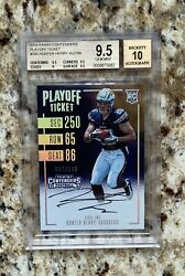 2016 Panini Contenders Playoff Ticket Hunter Henry 7/199 Bgs 9.5 10 Auto Rc