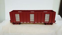 Wandr Brass Northern Pacific Np Hog Fuel Car - Ho Scale