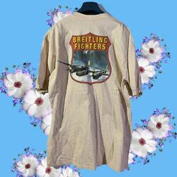 Breitling Fighters Vintage T Shirt Size Xl