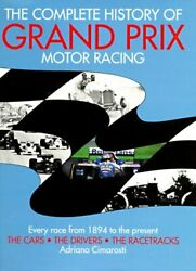 Complete History Of Grand Prix Motor Racing By Adriano Cimarosti - Hardcover