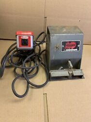 Belsaw Model 1205 Saw Setter With Dayton 2x981 Foot Switch 2607 Set