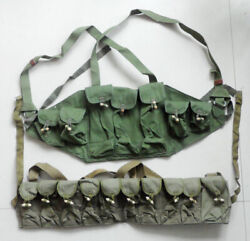 China Army Type 56 7.62 30 Rds Chest Rig Magazine Pouch And Sks Cartridge Clip Bag