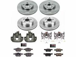 Front And Rear Disc Brake Kit Power Stop 4fyq14 For Ford Escape 2017 2018 2019