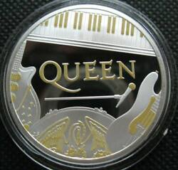 Great Britain Uk 2 Pounds 2020 Silver Proof Coin Rock Royalty Queen Mint Error