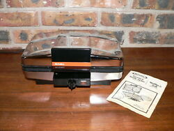 Vintage Ge 26g46t Non-stick General Electric Sandwich Grill And Waffle Maker Iron