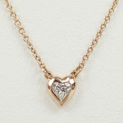 And Co. Elsa Peretti By The Yard Necklace 18k Gold 0.17ct Diamond Tf2807