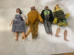 Vintage Mego Lot The Wizard Of Oz Figures Outfits Shoes Parts Axe Crown+++